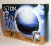 TDK DVM-60 MiniDV Videocasette no