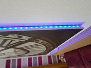 Wandbild mit LED Beleuchtung