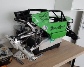 RC-Modelle, Modellbau - Ghost Racing G5 Roller Voll
