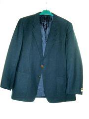 Herren-Blazer dunkelblau für untersetzte Körperfigur
