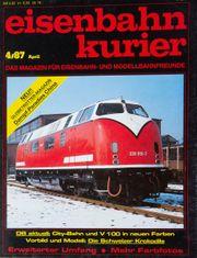 Eisenbahn Kurier-das Magazin für Eisenbahn