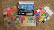 Loombänder und original Rainbow-Loom Rahmen