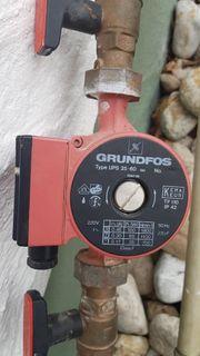 GRUNDFOS PUMPE UPS 25 60