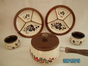 SMF Schramberg Keramik Fondue Kathrein