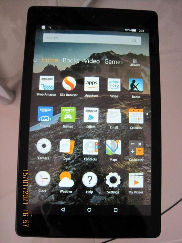 Amazon - Tablet Fire HD 8 (6. Generation), schwarz