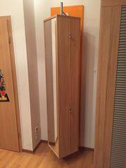 Drehelement Spiegel- Garderobenregal