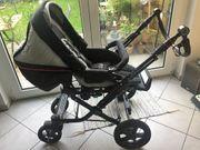Kinderwagen mit Babyaufsatz
