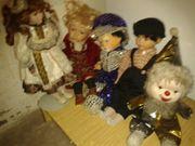 Puppen für Sammler Größe von