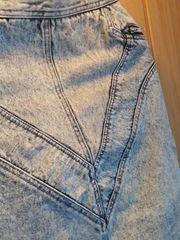 Jeansrock 80iger Retro Vintage Kleidung