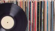 Viele LPs Langspielplatten