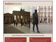 Food Chemistry Chemistry Food Science