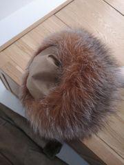 Pelz Mütze echt