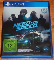 PS4 Need For Speed für