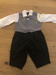 Baby Anzug mit Fliege Gr