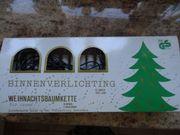 elektrische Weihnachtskerzen für Innen