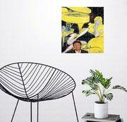 Yellow Linda With Piano von