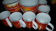 6 Tassen 6 Schalen Afrika