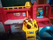 Transformers Rescue Bots Feuerwehrstation