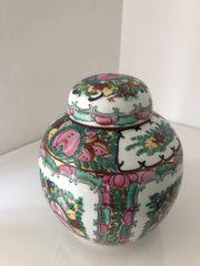 alte China Porzellan Vase mit