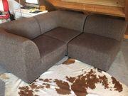 Couchgarnitur zu verschenken braun guter