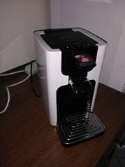 die Kaffeemaschine mit peps