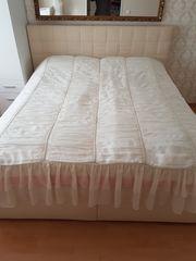 Boxspringbett Doppelbett Bettkästen Kunstleder 180x200
