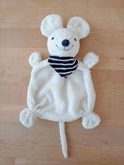 Rossmann Babydream Schnuffeltuch Kuscheltier Maus