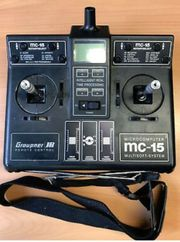 Fernsteuerung Graupner MC15