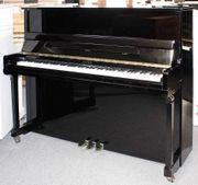 Klavier Astor P20 schwarz poliert