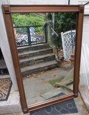 Spiegel groß Wandspiegel in Holzrahmen