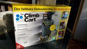 Einkaufstrolly faltbar Treppensteiger neuwertig für