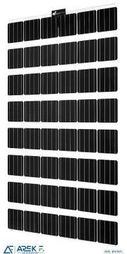 Sonnenstromfabrik 260W transparent rahmenlos Doppel