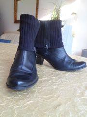 schwarze Stiefel Gr 41