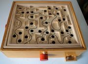 Holzspielzeug Das große Labyrinth Geschicklichkeitsspiel