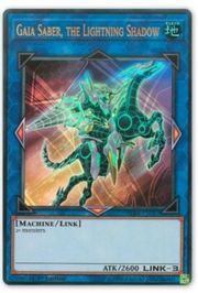 Gaia-Säbel der Blitzschatten Ultra Rare