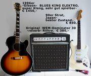 1 Gibson-1Strat-1WEM-Verstärker