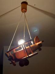 Kinderzimmerlampe aus Holz