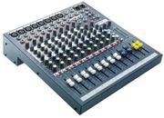 Verleih Soundcraft EPM 8 Kompaktmischpult