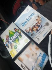WeSing Wii Nintendögs DS Sims