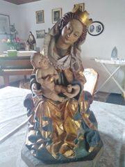 Madonna Holz Figur