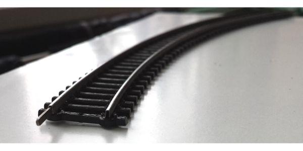10 Schienen Gleise lang gebogen -