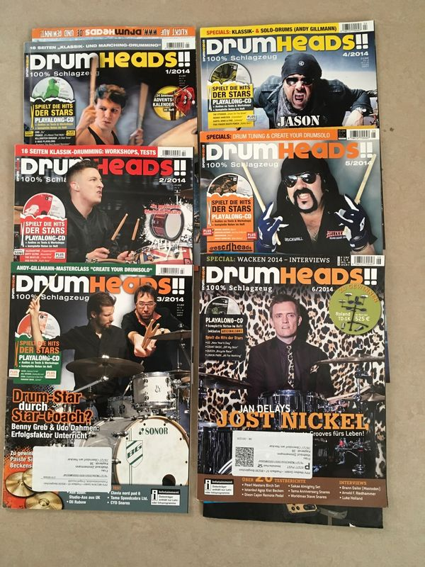 77 DrumHeads drums percussion Sticks