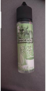 E-shisha Liquid Dampfdrache grüner Tee
