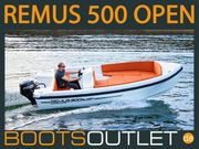 Remus 500 Open Motorboot Angelboot