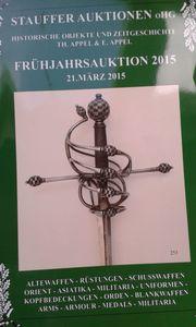 Auktionskataloge Militaria Antiquitäten Waffen Orden