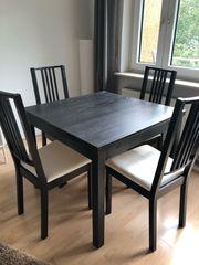 Ikea Esstisch und Stühle