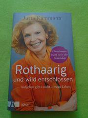 Buch Jutta Kammann Rothaarig und