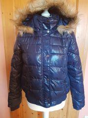 Winterjacke Jacke blau Gr 38