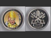 Papst Benedikt XVI - 40 mm -