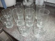6gr Gläser und 4 kl